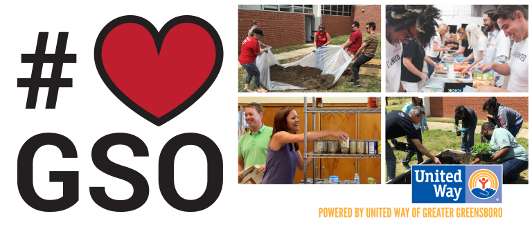 #loveGSO | United Way of Greater Greensboro