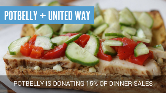 Potbelly + United Way