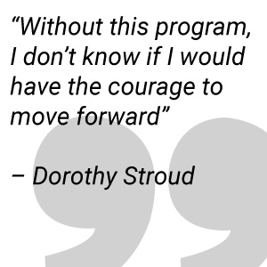 Dorothy Stroud on the Family Success Center