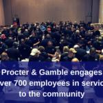 Procter & Gamble Serve the Community