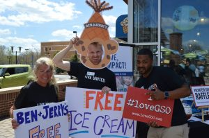 Ben & Jerry's Free Cone Day benefiting United Way @ Ben & Jerry's