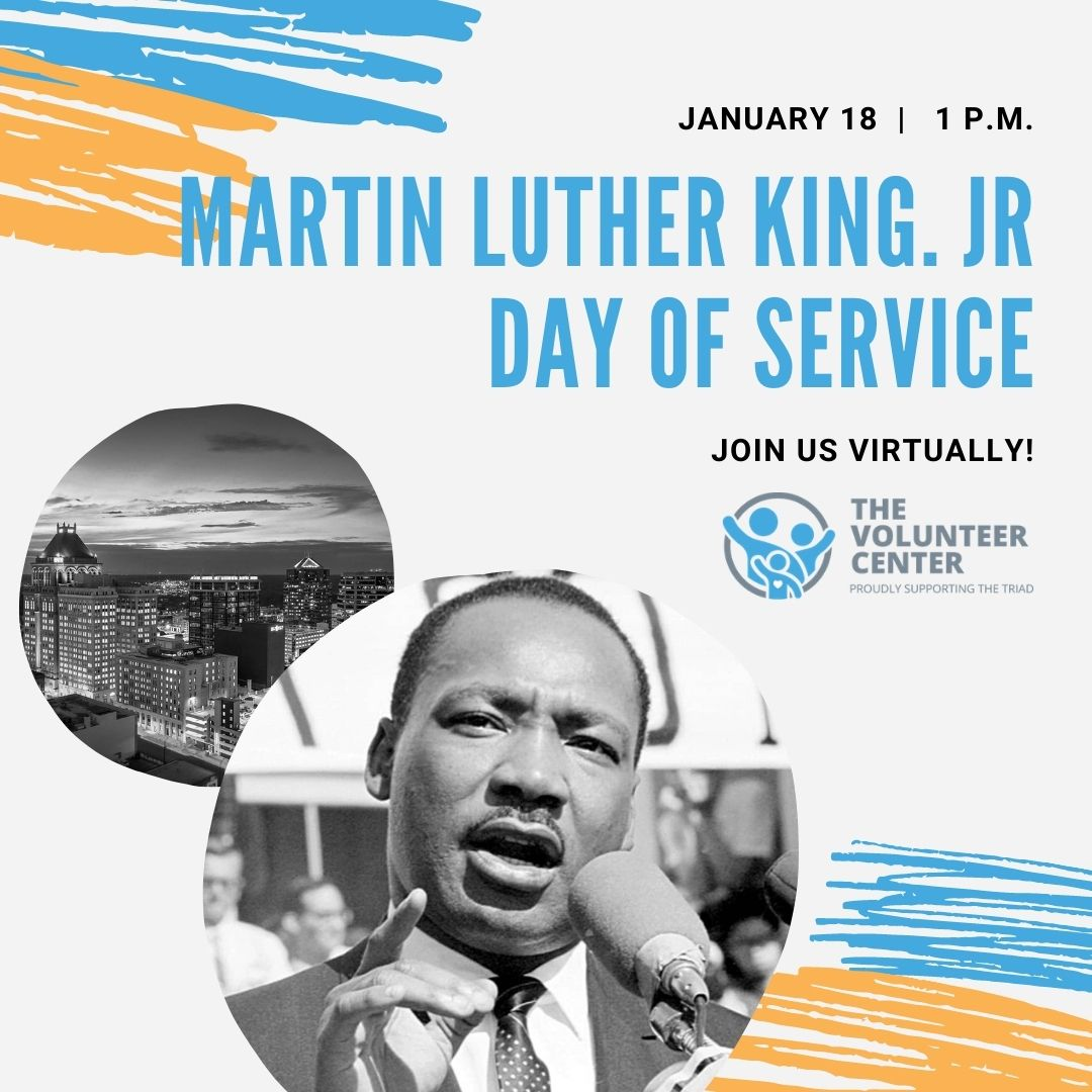 2021 Martin Luther King Jr Day Of Service United Way Of Greater Greensboro